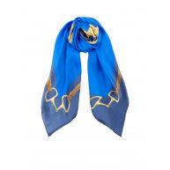 Ralph Lauren Francesca sjaal van zijde 90 x 90 cm