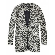 Blazer - Leopard Look Cream