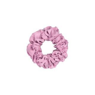 Roze scrunchie