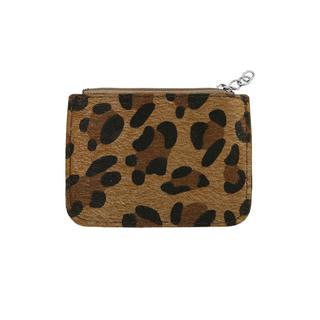 Brown Small Leopard Wallet