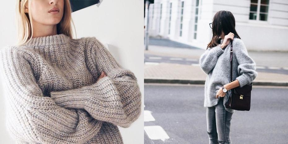 De oversized Sweater