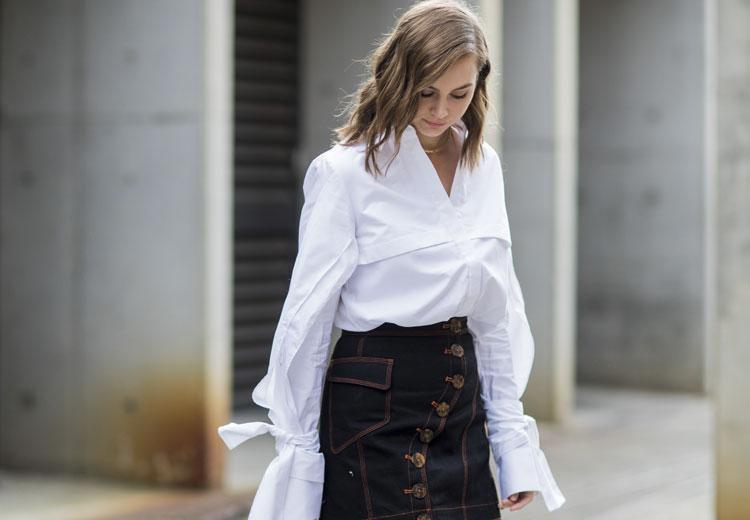 Zó maak jij drie office proof looks met de witte blouse