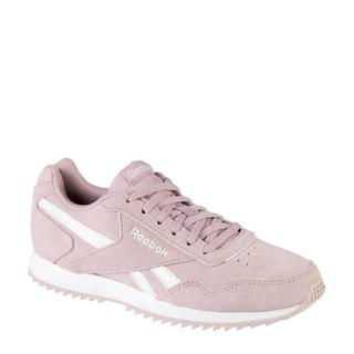 Royal Glide leren sneakers roze/wit