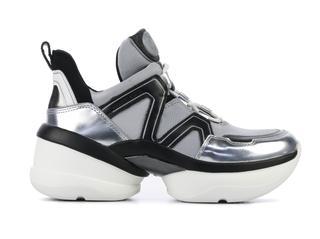 Sneakers Dames (Zilver)