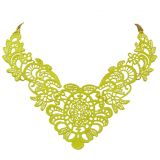 Sacha Neon gele statement necklace