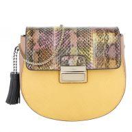 Furla Schoudertassen - Clio S Crossbody Bag Corniola/Ambra in geel, roze, bontgekleurd voor dames
