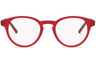 Harrington | Raw Crystal Red Bril inclusief glazen op sterkte