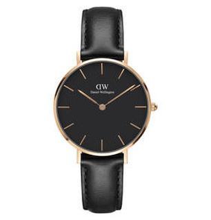 Petite Rosé Sheffiel Black DW00100168 Horloge