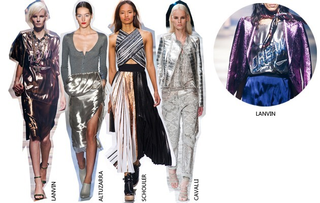trends metallic
