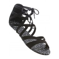 Dames sandalen in zwart - bpc bonprix collection