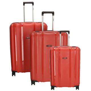 Durham kofferset 3-delig red