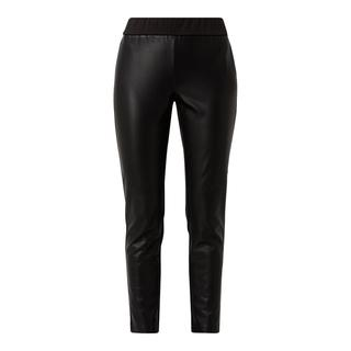 Korte legging in leerlook