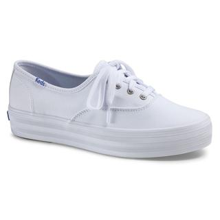 Triple Seas Solid Canvas White