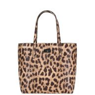 Paul's Boutique Jamie Allcroft Natural Leopard Shopper PBN126478