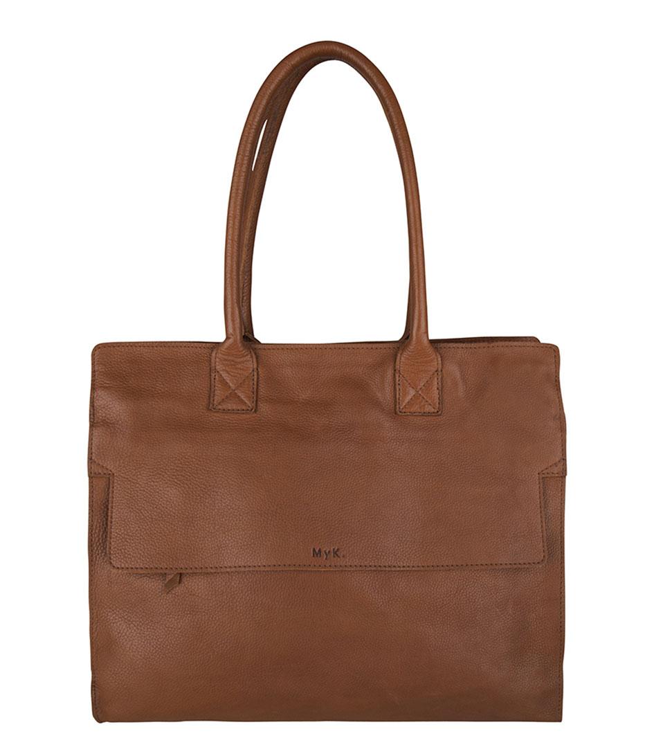 Myk Bags Laptoptassen Bag Career Bruin opruiming Gratis Verzending Groothandelsprijs TRWK9qRF5B