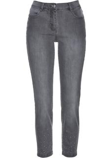 Dames 7/8 jeans in grijs