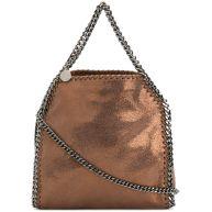 Stella McCartney Falabella foldover tote bag - Brown
