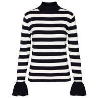 Hotti pullover black/cream