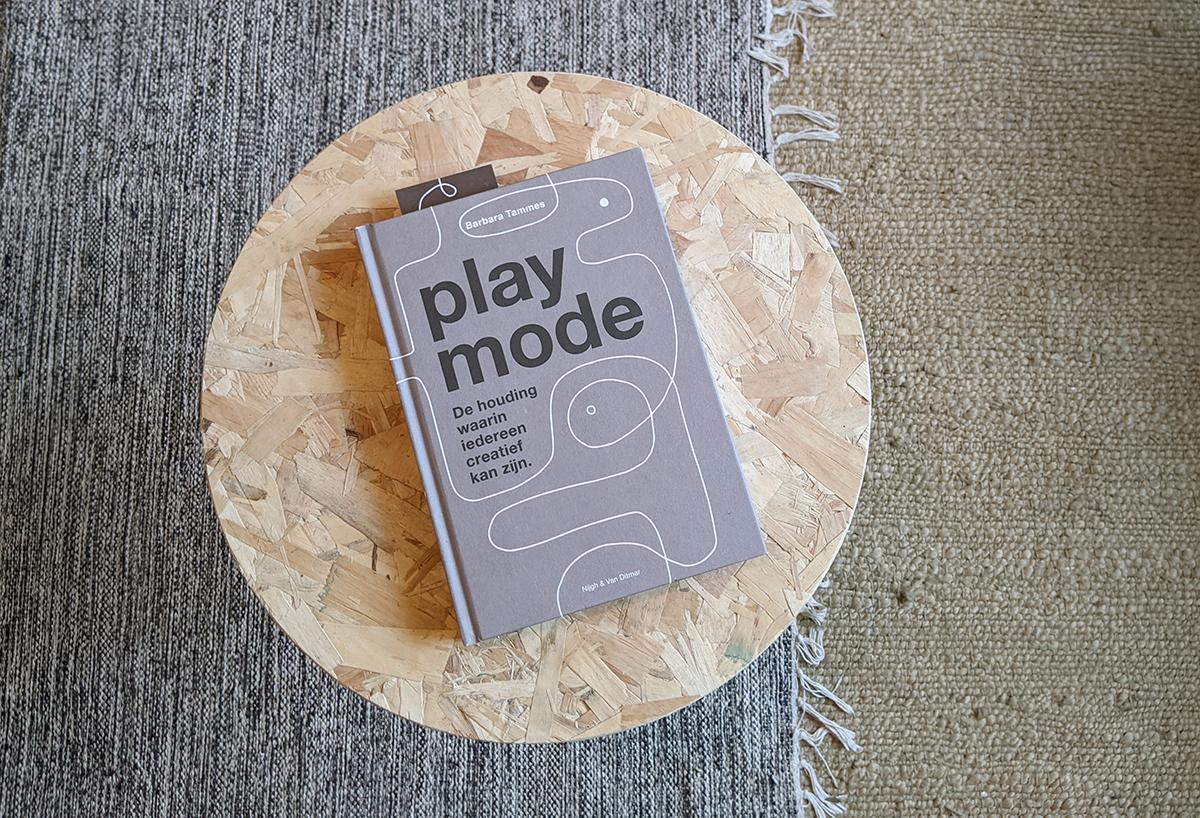 playmode omslag creativiteit boek