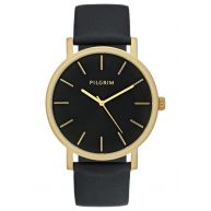 Pilgrim Horloge goldcoloured/black