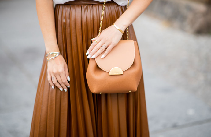 How to style: de plissérok