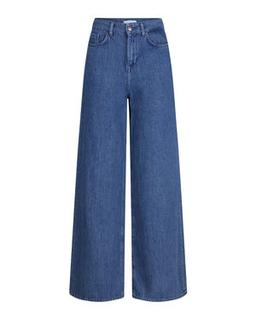 DAMES HIGH RISE WIDE LEG JEANS
