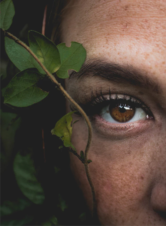 bruine ogen