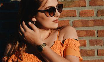 """Odette: """"Zo style ik trendkleur oranje''"""