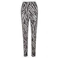Legging MIAMODA zwart/wit