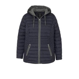 XL Yessica gevoerde jas grijs