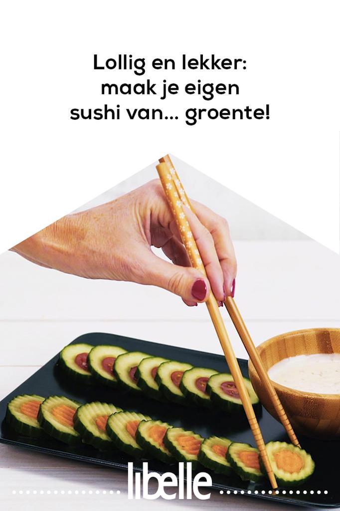 sushi van groente
