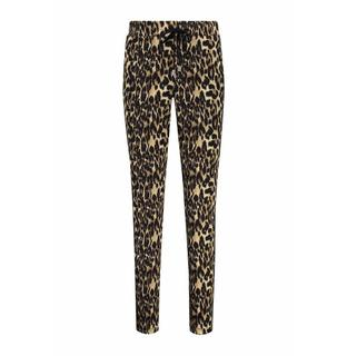 Hart by . broek base bies /gold leopard zwart