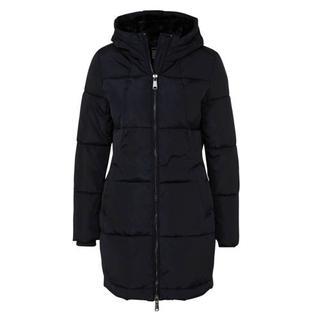 gewatteerde winterjas donkerblauw Gewatteerde jas (Dames) - Dames