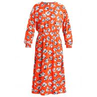 Warehouse FLOATING FLORAL Maxijurk orange