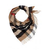 BURBERRY Bandana Check sjaal van kasjmier 85 x 165 cm
