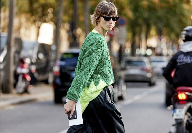 Groen licht voor deze trui