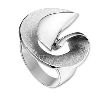 professioneel Winkelaanbod Goedkoop Online It'S Beautiful Intrigerende fantasie gescratchte spiraal ring van zilver Kopen Goedkope Prijzen exclusief zUqZ5