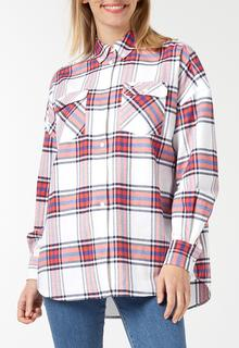 Modern Check Shirt Blouse
