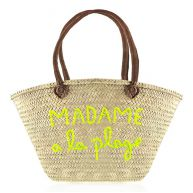 Beach Bag Madame A La Plage - Yellow