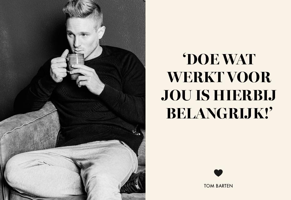 Tom en quote