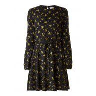 Warehouse Skater jurk met bloemdessin