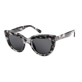 1cf09bf3a7c107 Marmerpatroon zonnebril met donkere glazen
