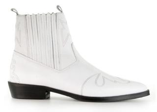 Jimmy Cura White Enkelboots
