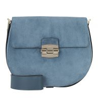 Furla Schoudertassen - Club S Crossbody Avio Scuro in blauw voor dames