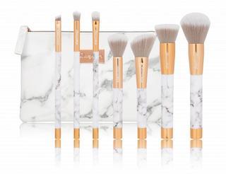 7 pc Marble Brush Set