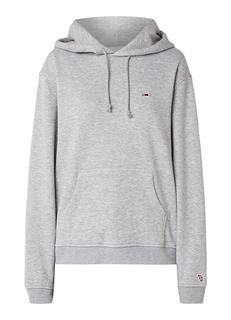 Classic hoodie met buidelzak