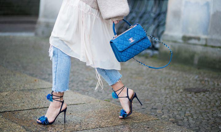 Gespot: Zo draag je een jurk over je broek