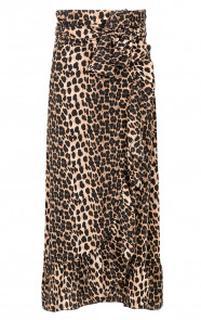 Leopard Wikkelrok Luxury