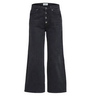 Wijde cropped jeans