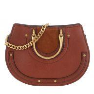 Chloé Schoudertassen - Pixie Belt Bag Saffron Red in bruin voor dames